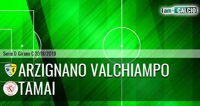 Arzignano Valchiampo - Tamai