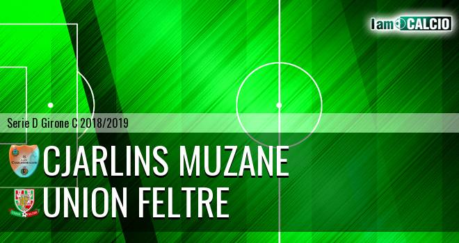 Cjarlins Muzane - Union Feltre