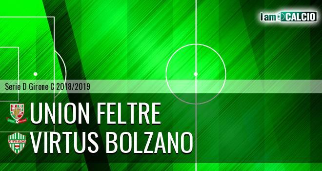 Union Feltre - Virtus Bolzano