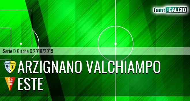 Arzignano Valchiampo - Este