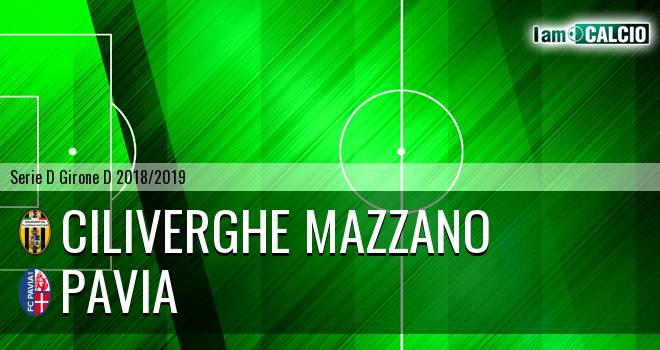 Ciliverghe Mazzano - Pavia