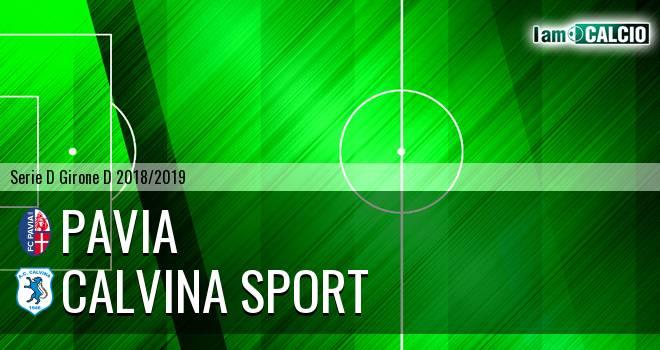 Pavia - Calvina Sport