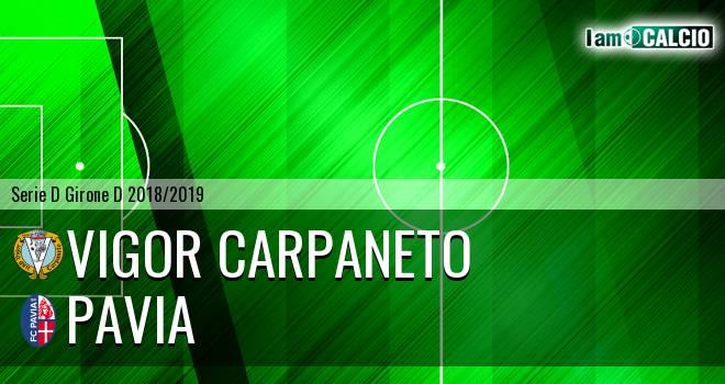 Vigor Carpaneto - Pavia