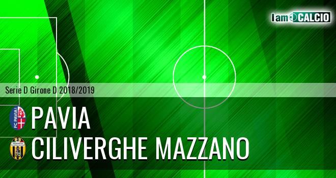 Pavia - Ciliverghe Mazzano