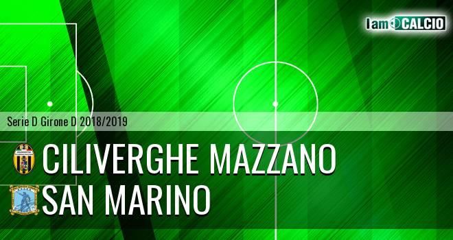 Ciliverghe Mazzano - Cattolica Calcio SM