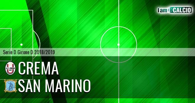 Crema - Cattolica Calcio SM