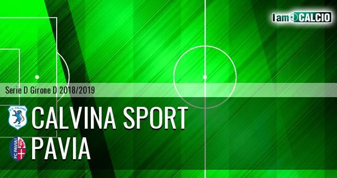 Calvina Sport - Pavia