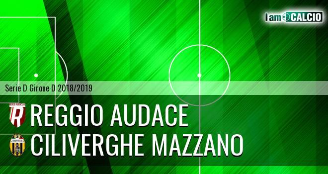Reggio Audace - Ciliverghe Mazzano