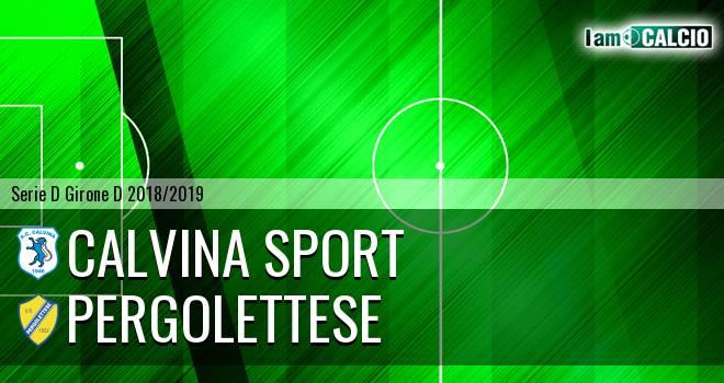 Calvina Sport - Pergolettese