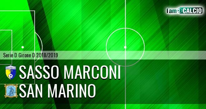 Sasso Marconi - Cattolica Calcio SM