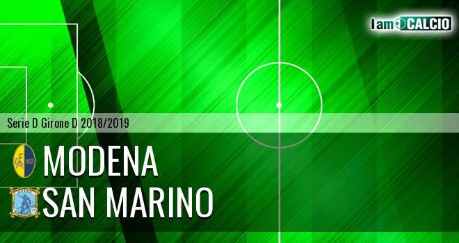 Modena - San Marino