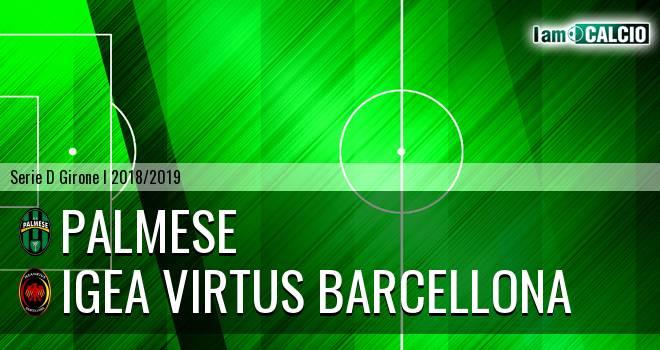 Palmese - Igea Virtus Barcellona