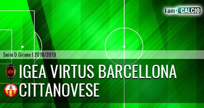 Igea Virtus Barcellona - Cittanovese