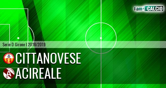 Cittanova Calcio - Acireale
