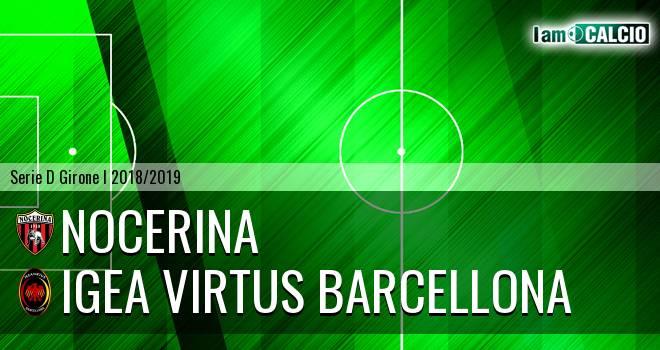 Nocerina - Igea Virtus Barcellona