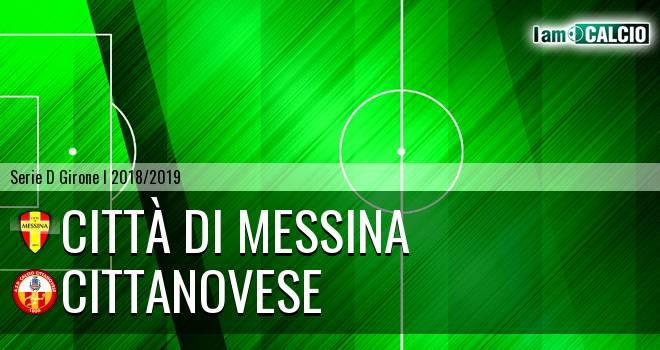 FC Messina - Cittanova Calcio