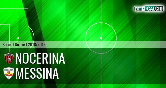 Nocerina - Messina 0-1. Cronaca Diretta 09/12/2018