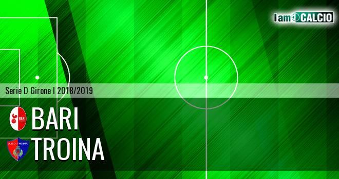 Bari - Troina 1-0. Cronaca Diretta 12/12/2018