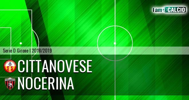 Cittanovese - Nocerina 3-1. Cronaca Diretta 12/12/2018
