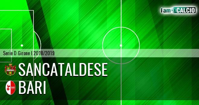 Sancataldese - Bari 1-2. Cronaca Diretta 13/01/2019