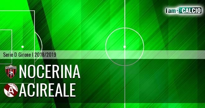 Nocerina - Acireale 1-1. Cronaca Diretta 13/01/2019