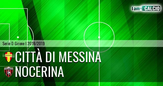 Città di Messina - Nocerina 0-1. Cronaca Diretta 20/01/2019