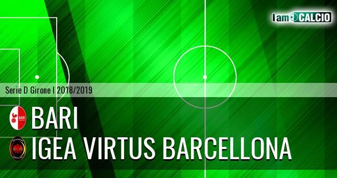 Bari - Igea Virtus Barcellona