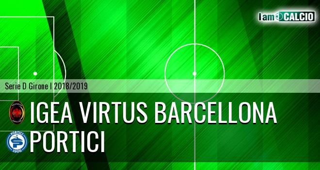 Igea Virtus Barcellona - Portici