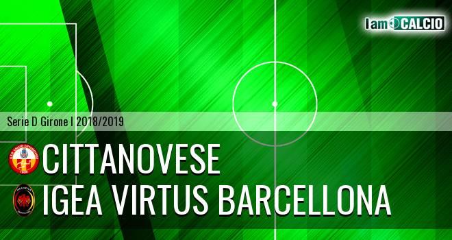 Cittanovese - Igea Virtus Barcellona