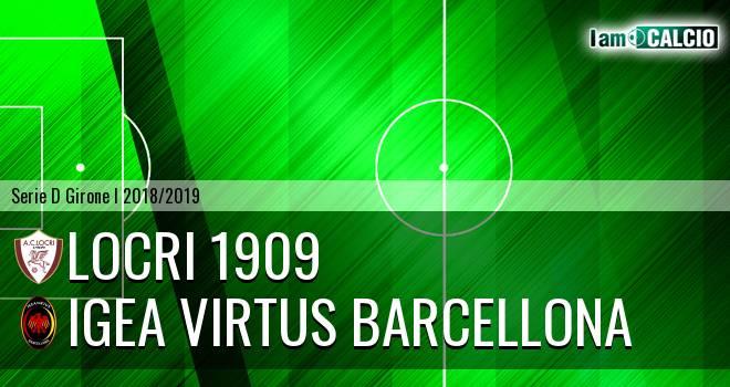 Locri - Igea Virtus Barcellona