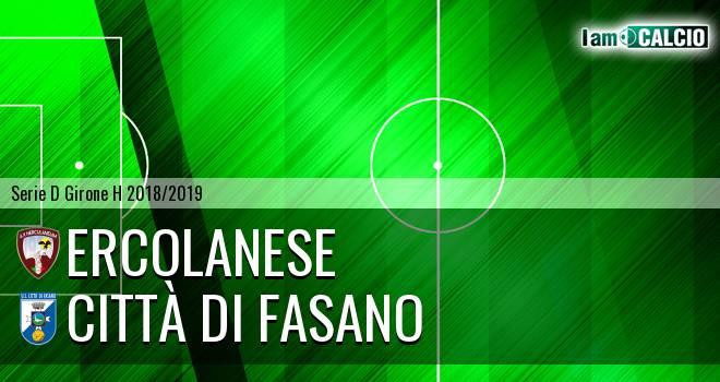 Sporting Ercolano - Città di Fasano