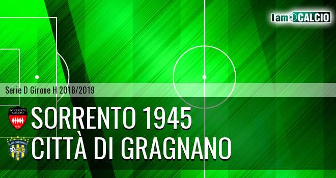 Sorrento 1945 - Città di Gragnano