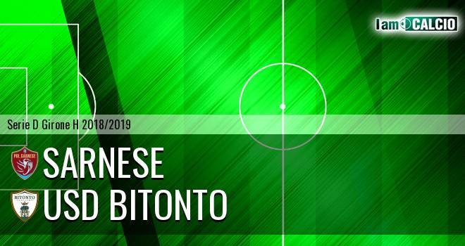 Sarnese - Bitonto Calcio