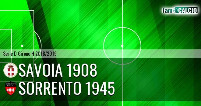 Savoia 1908 - Sorrento 1945
