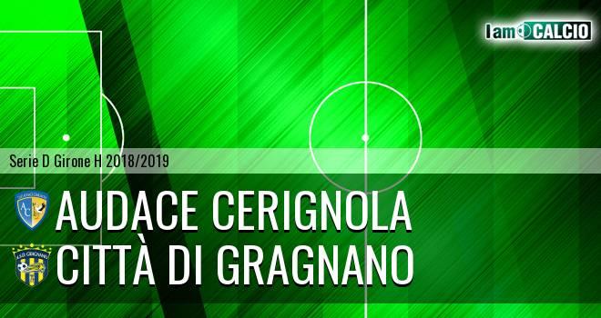 Audace Cerignola - Città di Gragnano