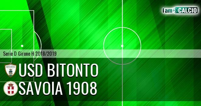 Bitonto Calcio - Savoia 1908