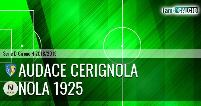 Audace Cerignola - Nola