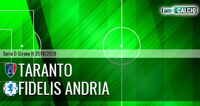 Taranto - Fidelis Andria