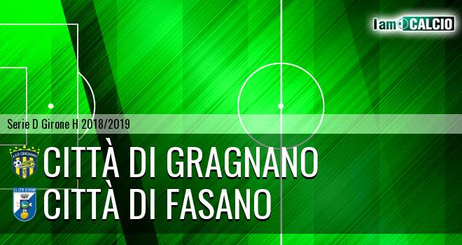 Città di Gragnano - Città di Fasano