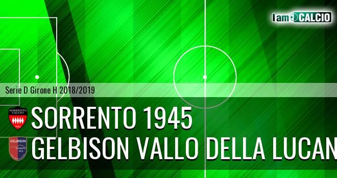 Sorrento 1945 - Gelbison Vallo Della Lucania