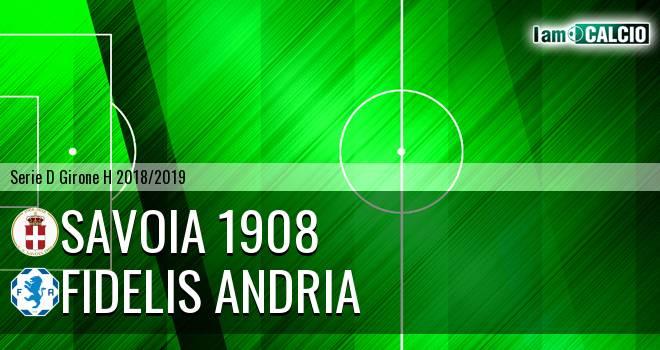 Savoia 1908 - Fidelis Andria