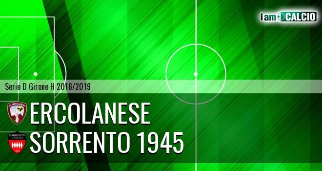Sporting Ercolano - Sorrento 1945