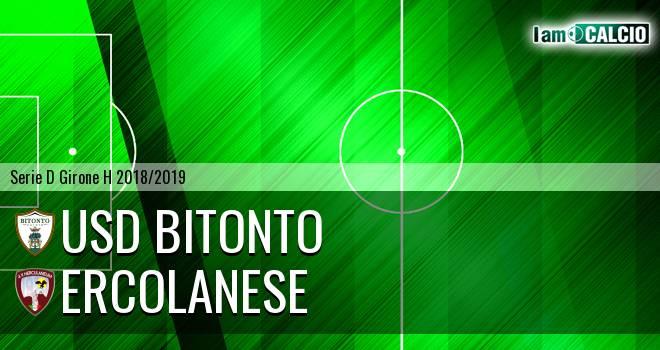 Bitonto Calcio - Sporting Ercolano