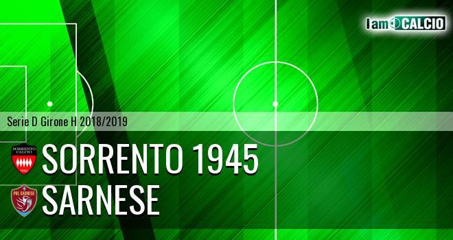 Sorrento 1945 - Sarnese