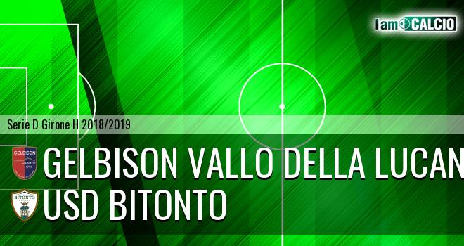 Gelbison Vallo Della Lucania - USD Bitonto