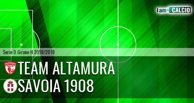 Team Altamura - Savoia 1908