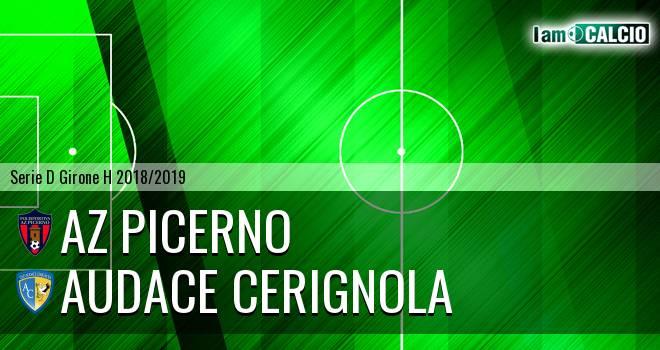 AZ Picerno - Audace Cerignola 4-1. Cronaca Diretta 16/12/2018