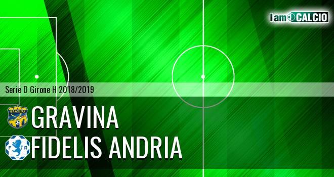 Gravina - Fidelis Andria 4-1. Cronaca Diretta 16/12/2018