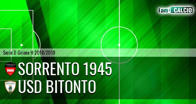 Sorrento 1945 - Bitonto Calcio