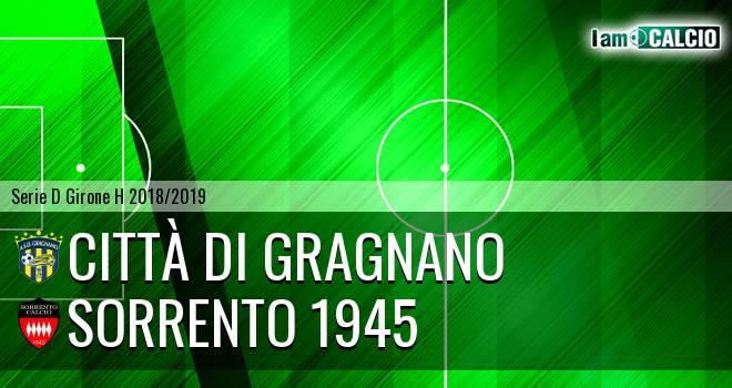 Città di Gragnano - Sorrento 1945